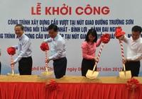 Khởi công hai cầu vượt 'giải cứu' sân bay Tân Sơn Nhất