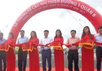 Chính thức thông xe cầu Nhị Thiên Đường 1 mới