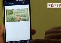 Số hóa giấy tờ quan trọng bằng smartphone