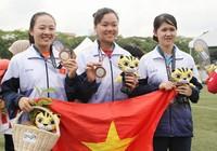 """Thua """"mũi tên vàng"""" bắn cung Việt Nam giành HCB"""