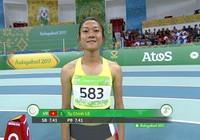 Lê Tú Chinh vào chung kết 60 m tại AIMAG5