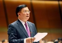 Bộ trưởng Đinh Tiến Dũng được giới thiệu ứng cử đại biểu Quốc hội