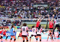 Chung kết VTV Cup 2016: Tuyển nữ Việt Nam thất bại