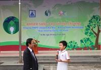 Học sinh tham gia Sáng tạo vì môi trường