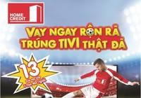 Trúng Tivi 40 inch xem Euro Cup cùng Home Credit