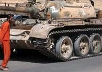 IS công bố video dùng xe tăng cán chết tù nhân
