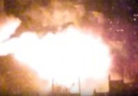 Tòa nhà năm tầng ở Moscow chìm trong biển lửa