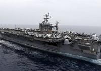 Tàu sân bay Mỹ chạm trán tên lửa Iran