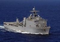 Tàu đổ bộ Mỹ tuần tra biển Đông