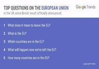 Hậu trưng cầu dân ý, dân Anh đổ xô tra cứu về EU