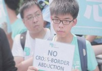 Thủ lĩnh sinh viên Joshua Wong đã trở về Hong Kong