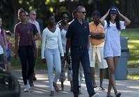 Gia đình Obama du lịch hết 85 triệu USD trong 8 năm