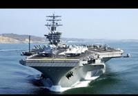 Tàu Nga - Trung bám đuôi tàu sân bay Mỹ gần Triều Tiên