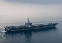 Tàu sân bay Mỹ đi vào biển Nhật Bản, áp sát Triều Tiên