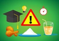 Những thực phẩm nên hạn chế dùng trong mùa thi