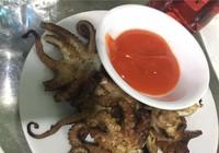 Cẩn thận với món bạch tuộc tái sống