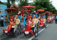 Rộn ràng đám cưới tập thể của 22 cặp đôi tại Huế