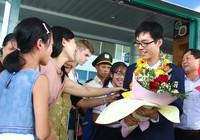 Quốc Học Huế rộn rã đón giải vàng Olympic Quốc tế