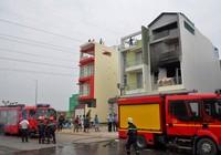 TP.HCM: Cháy nhà 4 tầng ngày giáp Tết