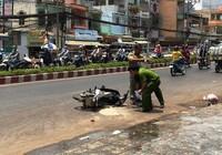 Hai nữ sinh viên bị tạt acid giữa phố Sài Gòn