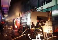 Clip: Công ty giày cháy lớn, huy động hàng trăm cảnh sát PCCC