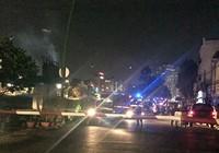Hoảng hồn trạm biến áp bên kênh Nhiêu Lộc - Thị Nghè phát nổ