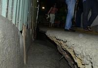 Công trình sụt lún ở quận 1: Nhiều người chưa dám về nhà ở