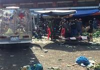 Người đàn ông nhặt rau gục xuống tử vong ở chợ đầu mối