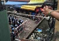 Tiến hành tháo dỡ lô D chung cư Cô Giang ở trung tâm TP.HCM