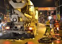 2 công nhân bị xe bồn cán tử vong