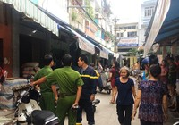 Cháy nhà gần chợ Võ Thành Trang cụ bà 80 thoát nạn