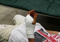Tài xế Grabbike bị chém nhập viện trước bến xe miền Tây