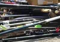 Nhập lậu cần câu, nồi, ống nước chữa cháy… qua Cát Lái