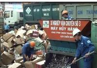 TP.HCM: Hủy hàng lậu trị giá 10 tỉ đồng