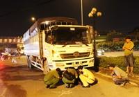 Người phụ nữ bị xe tải kéo lê, tử vong tại chỗ