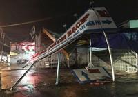 Cây ngã đổ, nhà tốc mái trong cơn giông ở TP.HCM