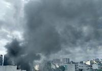 Cháy dữ dội gây chết, sập nhà trên đường Cộng Hòa