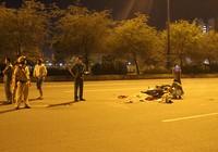 Đôi nam nữ bị container tông trên xa lộ Hà Nội