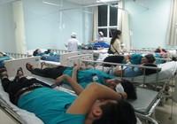 Hàng trăm công nhân bị ngộ độc sau khi ăn thức ăn do công ty nấu