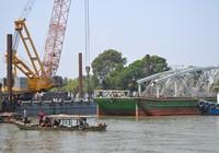 Bắt đầu xây dựng cầu Ghềnh mới