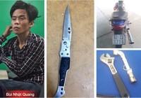 Đạp đầu xe, dùng dao đâm liên tiếp trinh sát đặc nhiệm