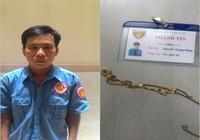 Hình sự quận 1 tóm gọn tên cướp mặc áo nhân viên bảo vệ