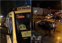Công an làm việc với tài xế taxi đánh du khách