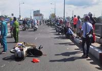 Công an quận 4 tìm chủ xe máy trong vụ tai nạn
