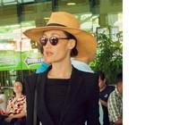 Maggie Q mặc sành điệu khi đến TP.HCM