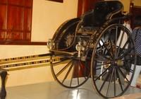 Trưng bày xe kéo của mẹ vua Thành Thái