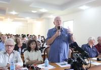 50 phóng viên quốc tế giao lưu với giảng viên, SV ĐHQG