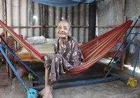 Cảnh nhà giản dị của cụ bà lớn tuổi nhất thế giới