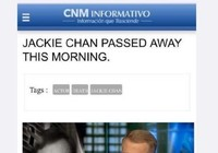 Thành Long bị đồn qua đời vì bệnh tim ở tuổi 61
