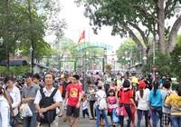 Ngày Quốc tế thiếu nhi: Khu vui chơi thu hút đông đảo các gia đình